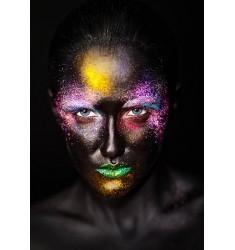 Cuadro Women Faces en Alto Brillo