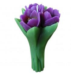 Vela ramo 3 tulipanes
