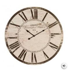 Relój madera d60