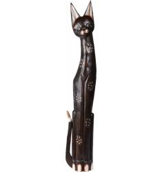 Gato de madera 100cm.