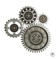 Reloj resina ENGRANAJES MÓVILES 57x58cm.