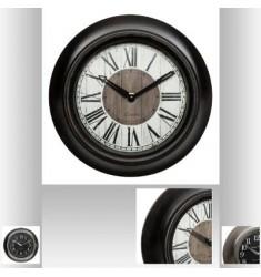 Reloj de resina y cristal D23cm