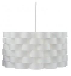 Lámpara techo d42  plástico-madera