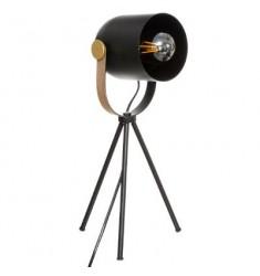 Lampara pie en metal 45x18cm diametro