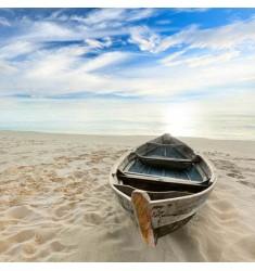 Cuadro de Barcas en Playa Alto Brillo