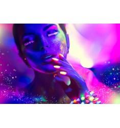 Cuadro Motivos Fluorescentes en Alto Brillo