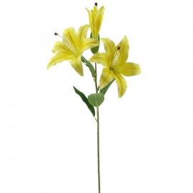 Lilium 70cm. amarilla