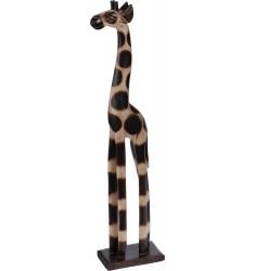 Jirafa de madera 60cm.