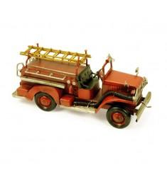 Coche bomberos metal