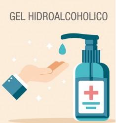 Gel hidroalcohólico 1LITRO con ALOE VERA